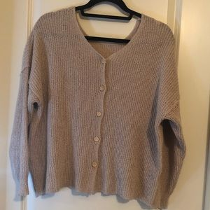 Sweaters - NWOT Button Front Sweater